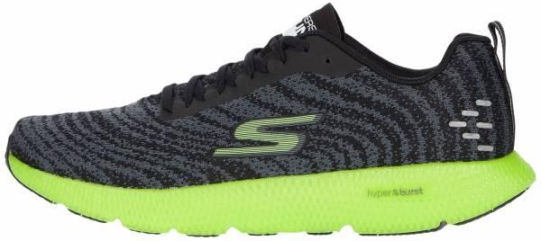 Skechers GOrun 7+ - Black/Lime (BKLM)