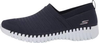 Skechers GOwalk Smart - Wise - Navy Textile/White Trim (424)