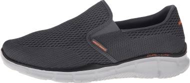 Skechers Equalizer Double Play - Grey Charcoal Orange (CCOR)