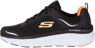 Skechers D'Lux Walker - Black/White (011)