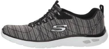Skechers Empire D'Lux - Black Charcoal Bkcc (BLAC)