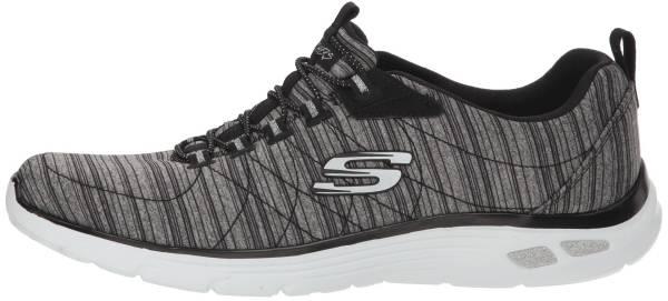 Skechers Empire D'Lux - Black Charcoal Bkcc (BLAC)