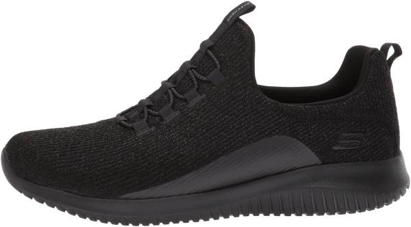 Skechers Ultra Flex - Black Knit (BBK)
