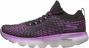 Skechers GOrun Maxroad 4 Hyper - Black Purple (BKPR)