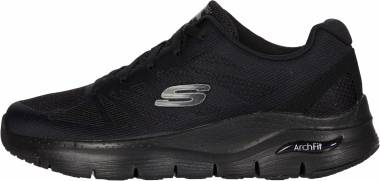 Skechers Arch Fit - Charge Back - Nero (BBK)