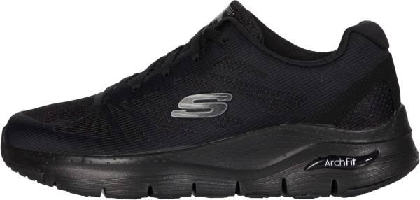 Skechers Arch Fit - Charge Back - Black/Black (BBK)