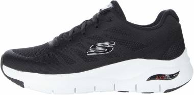 Skechers Arch Fit - Charge Back - Black/White (232)
