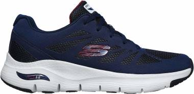 Skechers Arch Fit - Charge Back - Navy/Red (NVRD)