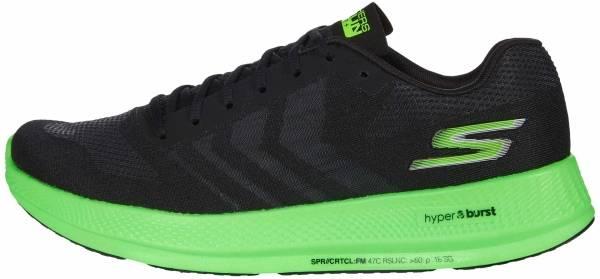Skechers GOrun Razor+ - Black/Green (BKGR)