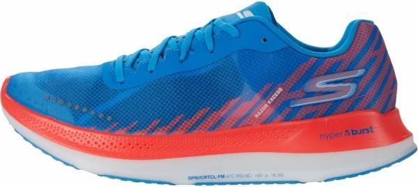 Skechers GOrun Razor Excess - Blue/Coral (BLCL)