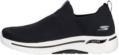 Skechers GOwalk Arch Fit - Iconic - Black/White (BKW)