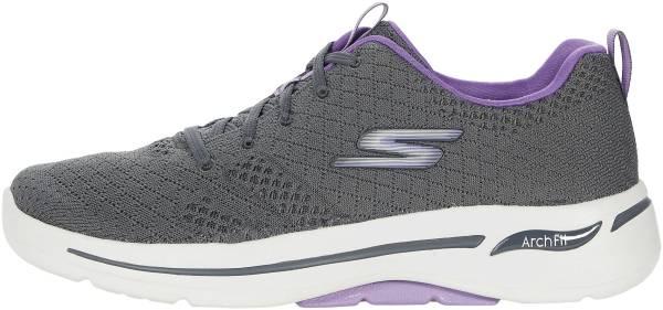Skechers GOwalk Arch Fit - Unify - Gray/Lavender (GYLV)