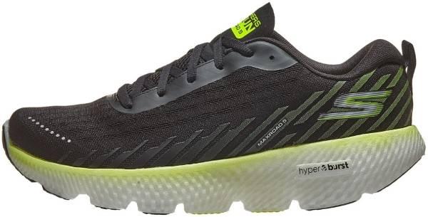 Skechers GOrun MaxRoad 5 - Black/Lime (BKLM)