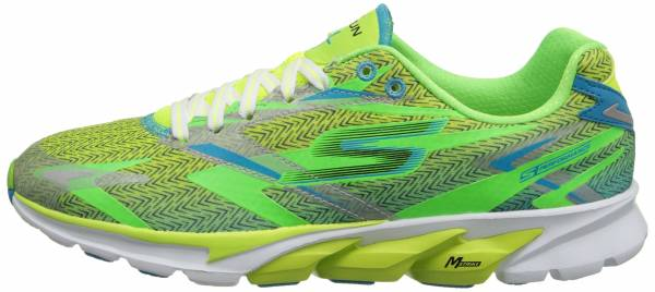 Skechers GOrun 4 men green (lime/blue)