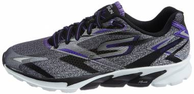 Skechers GOrun 4 - Grey (BKPR)