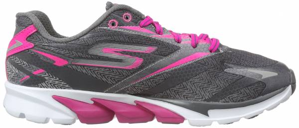 Skechers GOrun 4 woman charcoal/hot pink