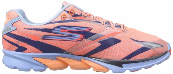 Skechers GOrun 4 woman coral/light blue