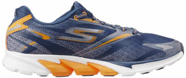 Skechers GOrun 4 men azul (navy/orange)