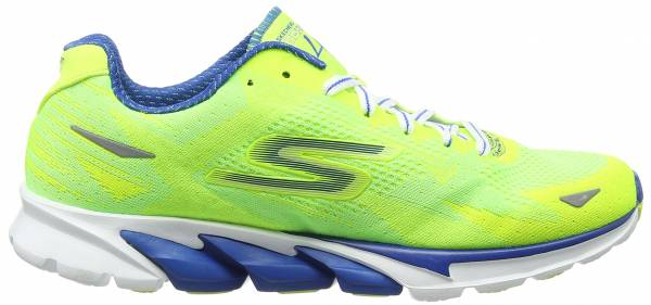 Skechers GOrun 4 men lime/blue
