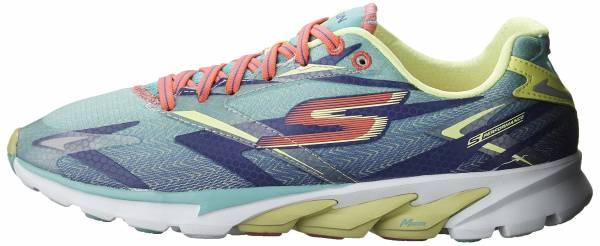Skechers GOrun 4 woman aqua/purple