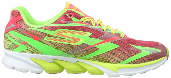 Skechers GOrun 4 woman lime/hot pink