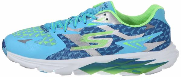 Skechers GOrun Ride 5 woman blue/lime