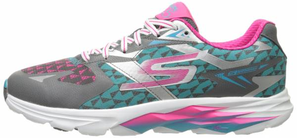 Skechers GOrun Ride 5 woman charcoal/blue