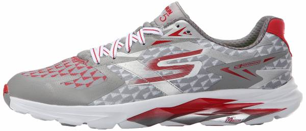 Skechers GOrun Ride 5 men gray/red
