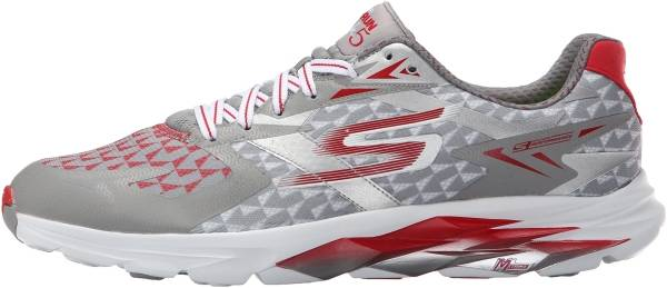 Skechers GOrun Ride 5 - Gray/Red