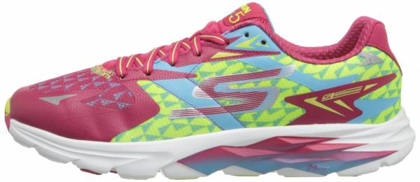 Skechers GOrun Ride 5 woman hot pink/blue