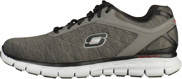 Skechers Synergy men charcoal/red