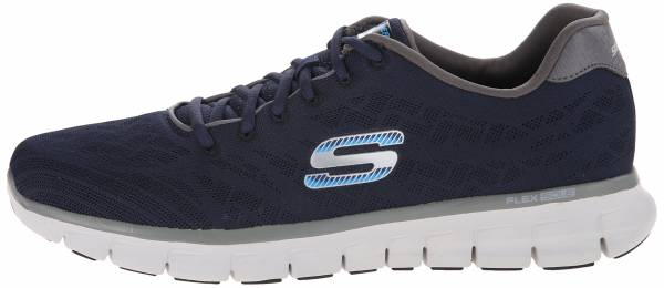 Skechers Synergy men azul - blue (navy/grey nvgy)