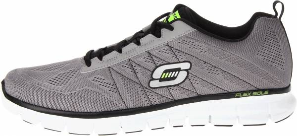 Skechers Synergy men light grey/black