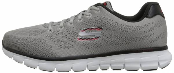 Skechers Synergy men light gray/black