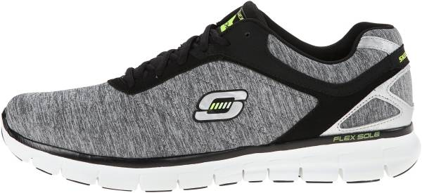 Skechers Synergy Grau (Light Gray/Black)