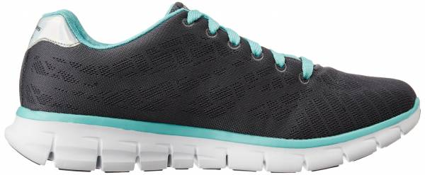 Skechers Synergy woman charcoal/turquoise