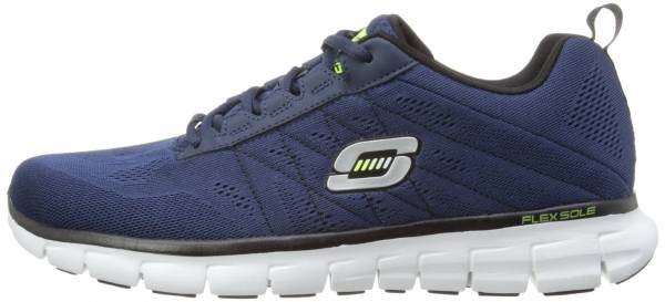 Skechers Synergy men azul (nvbk)