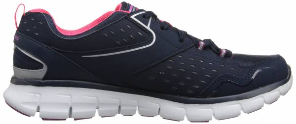 Skechers Synergy woman blu (navy/purple)