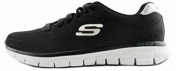 Skechers Synergy woman negro (bkw)