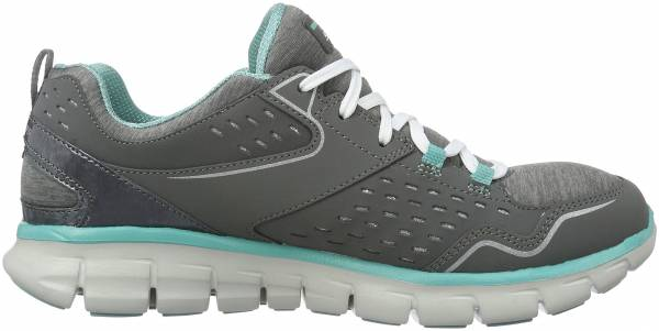 Skechers Synergy woman modern movement/charcoal/aqua