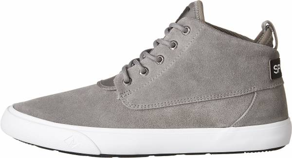 Sperry Cutwater Suede Chukka Charcoal