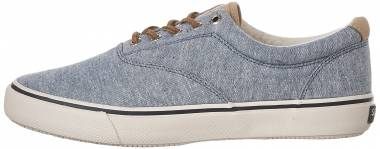 Sperry Striper Linen - Blue