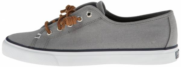 Sperry Seacoast Canvas  Grey