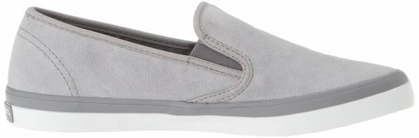Sperry Seaside Suede Light Grey