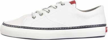 Sperry Gold Cup Haven Nautical White Men