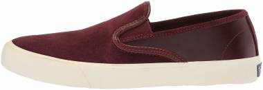 Sperry Captain's Slip-On - Burgundy (STS18454)