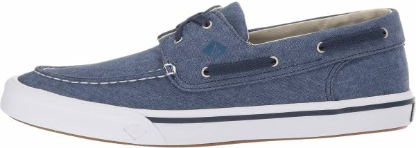 Sperry Bahama II Boat Washed - Navy (STS17394)