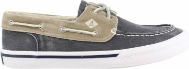 Sperry Bahama II Boat Washed Navy/Khaki Men