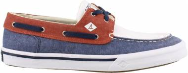 Sperry Bahama II Boat Washed - Navy/Red/White