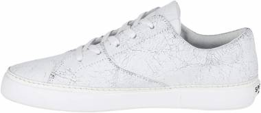 Sperry Gold Cup Haven Cracked Leather - White
